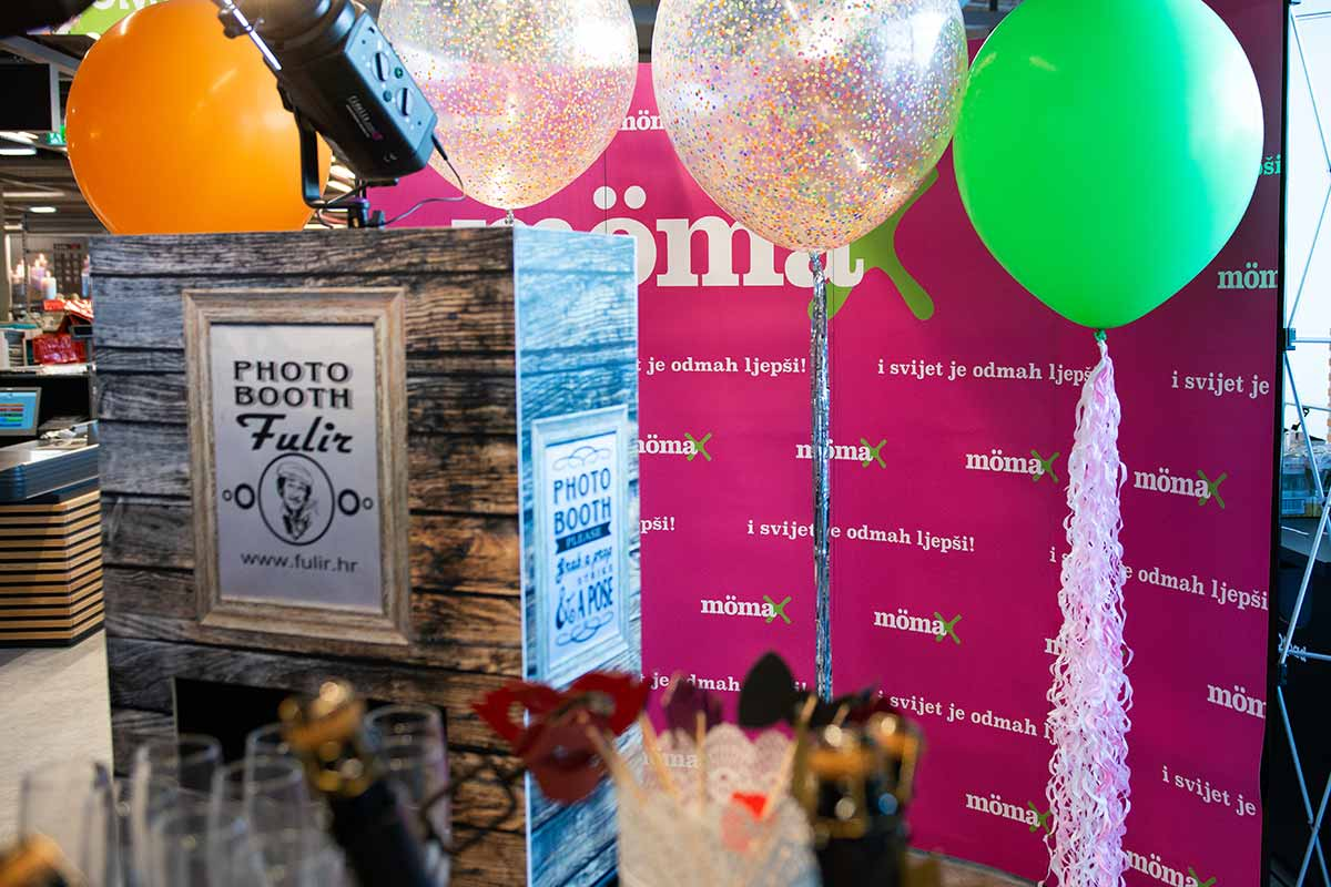 detalj photobooth aparata na momax eventu