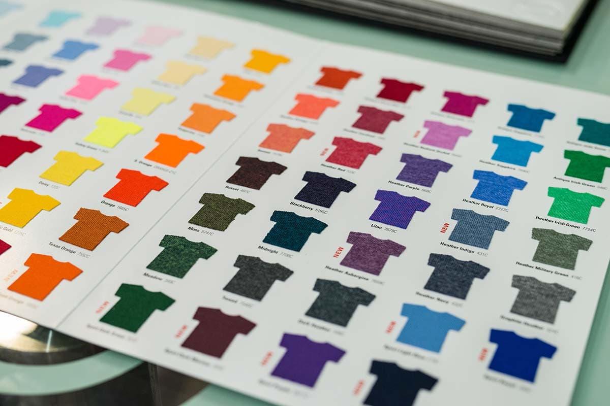 uzorci i boje majica