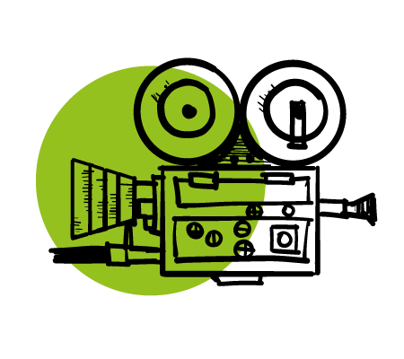ilustracija video kamere